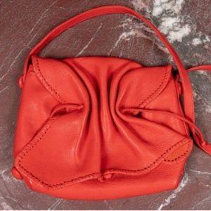 Carlos Falchi Lipstick Red Bag.